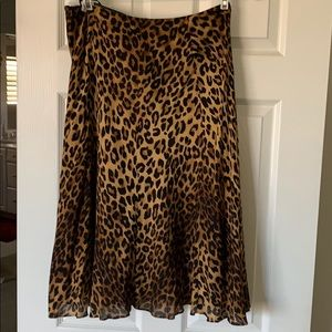Jones New York - Leopard Skirt